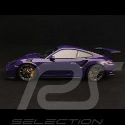Porsche 911 GT3 RS type 991 phase 1 2015 ultra violet 1/18 Minichamps 155066226