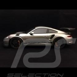 Porsche 911 GT3 RS type 991 2015 silbergrau metallic 1/12 GT Spirit GT705