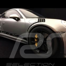 Porsche 911 GT3 RS type 991 2015 1/12 GT Spirit GT705 gris argent métallisé silver grey silbergrau metallic