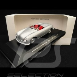 Porsche 356 n° 1 8 juin 1948 1/43 Welly MAP01935613 grise sliver grey silbergrau