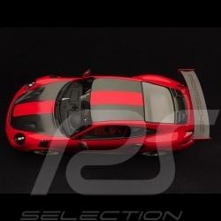 Porsche 911 GT2 RS type 991 Weissach Package 1/18 Spark WAX02100037 rouge / noir red / black rot / schwarz