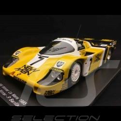 Porsche 956 LH vainqueur winner sieger Le Mans 1985 n° 7 New Man 1/18 Spark 18LM85
