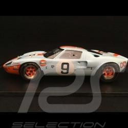 Ford GT40 Gulf n° 9 Sieger Le Mans 1968 1/18 Spark 18LM68