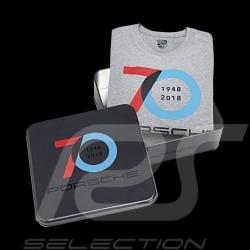 Porsche T-shirt 70 Jahre grau Porsche Design WAP711 - Herren