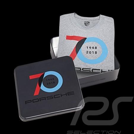 T-shirt Porsche 70 ans gris Porsche Design WAP711 - homme