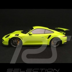Porsche 911 GT3 RS type 991 Mk 1 2015 light green 1/18 Minichamps 155066222