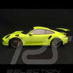 Porsche 911 GT3 RS type 991 phase 1 2015 1/18 Minichamps 155066222 vert lumière light green hellgrün