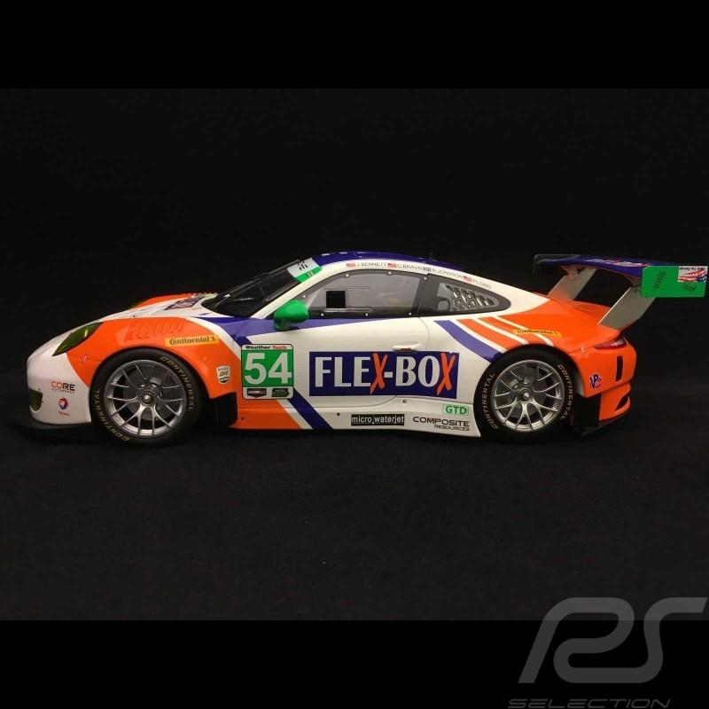Porsche 911 GT3 R type 991  24h Daytona 2017 n° 54 CORE Autosport 1/18 Minichamps 155176954