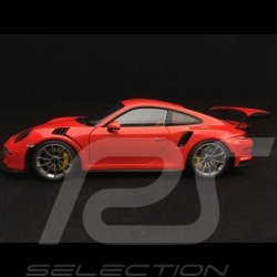 Porsche 911 type 991 GT3 RS lava orange 1/18 Autoart 78168