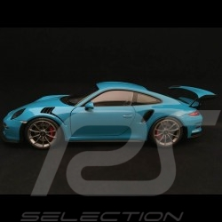 Porsche 911 type 991 GT3 RS Miami blue 1/18 Autoart 78167