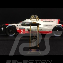 Porsche 919 Hybrid Sieger Le Mans 2017 n° 2 LMP1 1/18 Spark 18LM17