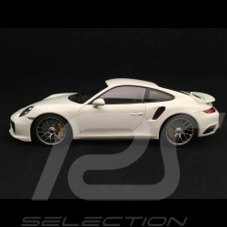 Porsche 911 Turbo S type 991 2016 1/18 Minichamps 113067123 phase II mark II blanche white weiß