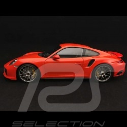 Porsche 911 Turbo S type 991 2016 1/18 Minichamps 110067120 phase II mark II orange