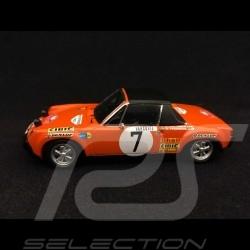 Porsche 914 6 Rallye Monte Carlo 1971 n° 7 Waldegaard 1/43 Spark S5582