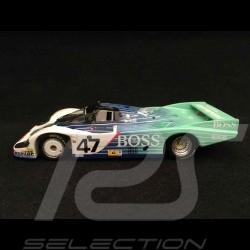 Porsche 956 24h Le Mans 1984 n° 47 Boss Obermaier 1/43 Spark S5506