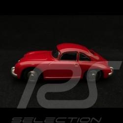 Porsche 356 A dark metal red Cardboard box 1/43 Quiralu
