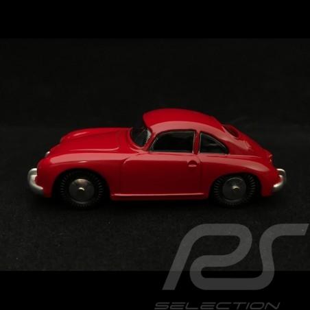 Porsche 356 A boite carton 1/43 Quiralu rouge métal foncé dark metal red Dunkel Metall rot