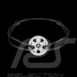 Fuchs Bracelet Sterling Silver Black cord Limited Edition 911 pieces