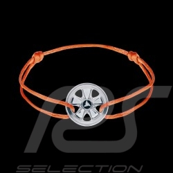 Fuchs Bracelet Sterling Silver orange cord Limited Edition 911 pieces