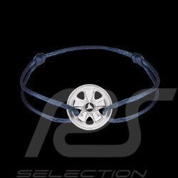 Fuchs Armband Sterling Silber königsblau Schnur Limitierte Auflage 911 Stück