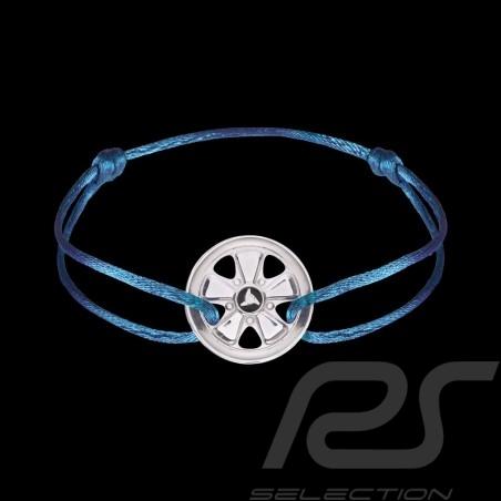 Bracelet Armband Fuchs Argent Sterling Silver Silber Cordon bleu blue blau olympe Edition limitée 911