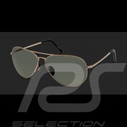 Porsche sunglasses golden frame / green polarized lenses Porsche Design P'8508-A - unisex
