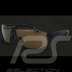 Porsche sunglasses black frame / brown lenses Porsche Design P'8509-A - unisex