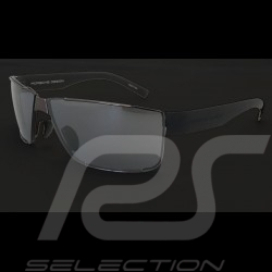 Porsche sunglasses dark gun grey frame / steel blue lenses Porsche Design P'8509-C - unisex