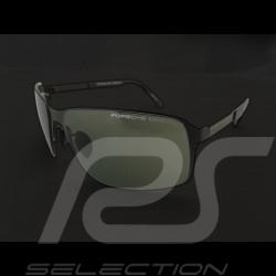 Lunettes de soleil Porsche Starter monture noire / verres verts Porsche Design P'8565-A - mixte sunglasses sonnenbrille