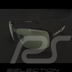 Porsche sunglasses Starter black frame / green lenses Porsche Design P'8565-A - unisex