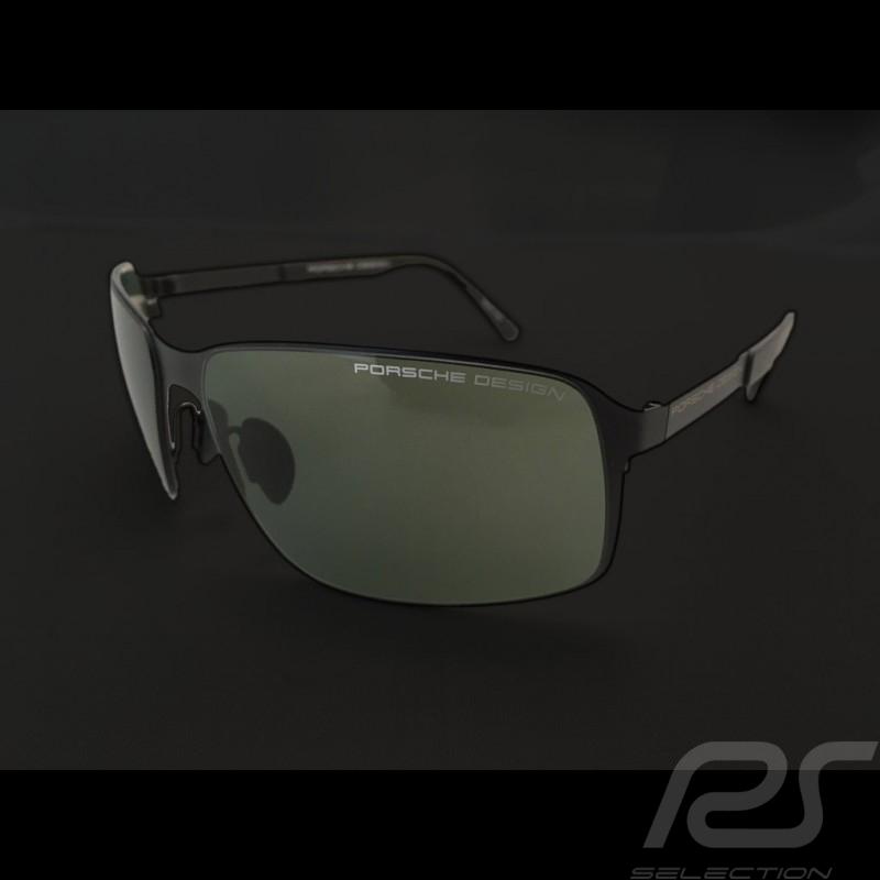019b6413ce2c Porsche sunglasses Starter black frame   green lenses Porsche Design P 8565-A  - unisex - Selection RS