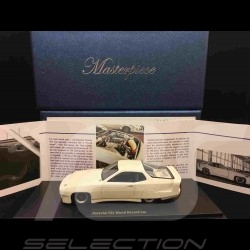 Porsche 924 World Record Car 1976 1/43 Autocult ATC90072 blanche white weiß