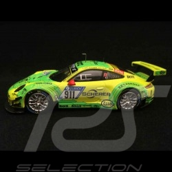 Porsche 911 type 991 GT3 R Nürburgring 2017 n° 911 Manthey racing 1/43 Ixo GTM115