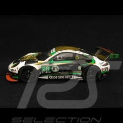 Porsche 911 GT3 R type 991 Daytona 2017 n° 28 Alegra 1/43 Ixo GTM106 vainqueur de classe class winner klassensieger