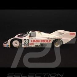 Porsche 956 K 1000 km Spa 1983 n° 33 Brun Racing 1/18 Minichamps 155836633