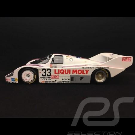 Porsche 956 K 1000 km Spa 1983 n°33 Brun Racing 1/18 Minichamps 155836633
