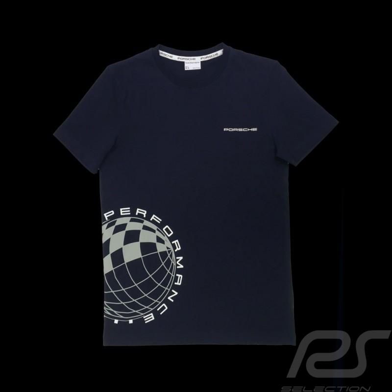 T-shirt Porsche Performance Porsche Design WAP915 - homme men herren bleu foncé dark blue dunkelblau