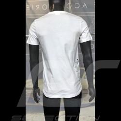 T-shirt Porsche Performance Porsche Design WAP914 - homme men herren blanc white weiß