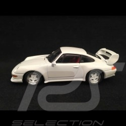 Porsche 911 Carrera RS type 993 Club Sport 1995 1/43 Minichamps 430065105 blanc Grand prix white weiß