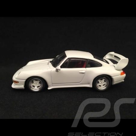 Porsche 911 Carrera RS type 993 Club Sport 1995 Grand prix white 1/43 Minichamps 430065105