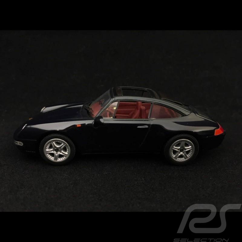 Porsche 911 Targa type 993 1995 metallic schwarz 1/43 Minichamps 430063062