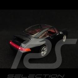 Porsche 911 Targa type 993 1995 metallic black 1/43 Minichamps 430063062