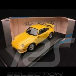 Porsche 911 Carrera RS 1995 type 993 1/43 Minichamps 430065100 jaune vitesse speed yellow speedgelb