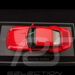 Porsche 911 Turbo 1995 type 993 1/43 Schuco 04111 rouge indien indian red indischrot
