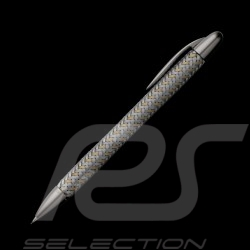 Stylo porte-mine Porsche Design acier / or Tec Flex P3110 mechanical pen Drehbleistift