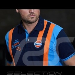 Gulf Le Mans victory Polo navy blue - men