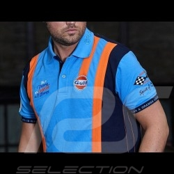 Polo Gulf victoire Le Mans bleu cobalt - homme men herren blue blau