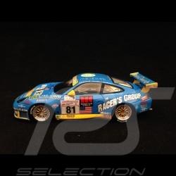 Porsche 911 type 996 Le Mans 2002 n° 81 Racers Group 1/43 Spark S5517 Vainqueur de classe class winner klassensieger