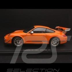 Porsche 911 GT3 RS 4.0 type 997 mark II 2012 orange 1/18 Autoart 78148