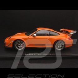 Porsche 911 GT3 RS 4.0 type 997 phase II 2012 orange 1/18 Autoart 78148